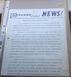 "Dinky Toys Liverpool original Press Photograph and 1 page letter 10/7/1969 introducing Dinky 165 ""Ford Capri"""